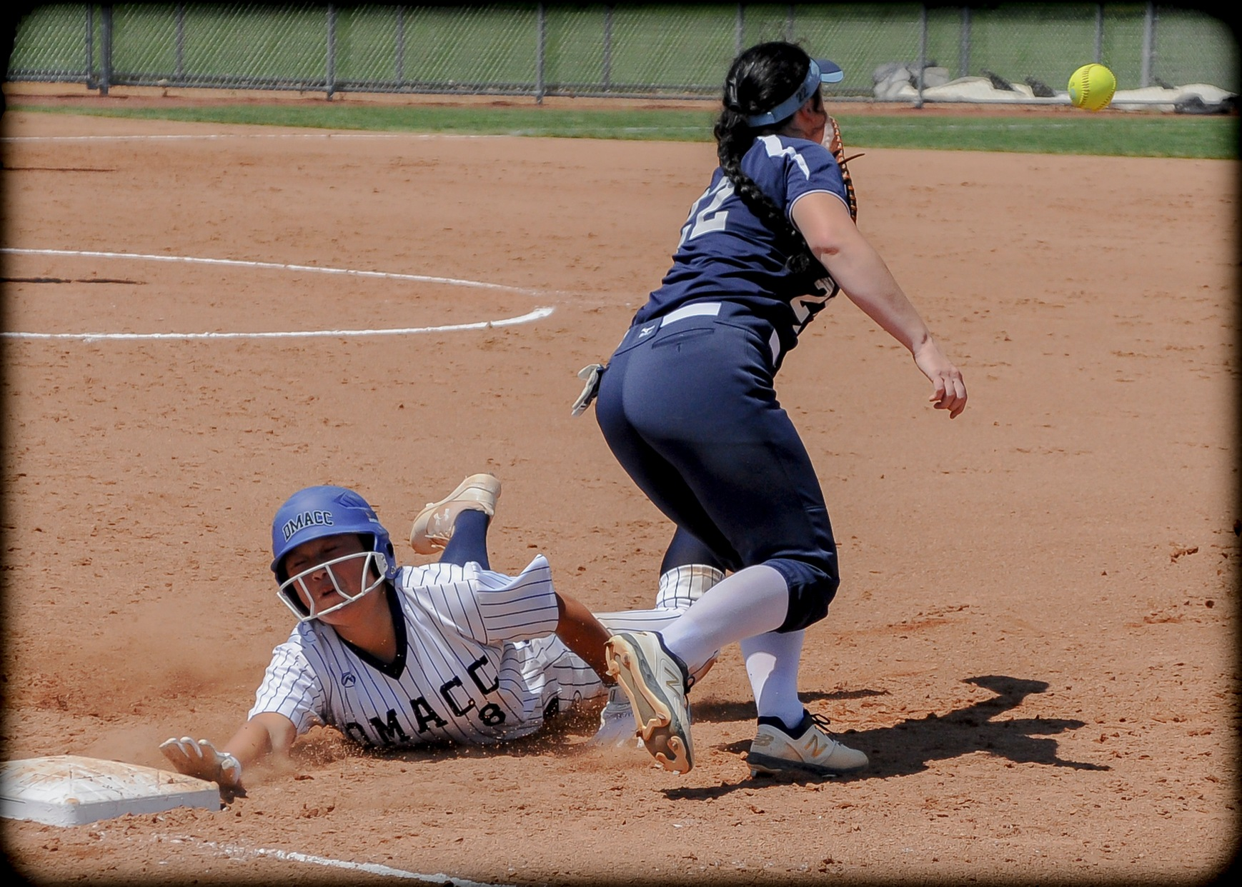 Swafford pitches, bats DMACC softball team to tournament-opening victory