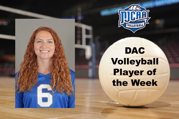 DAC Volleyball Player of the Week (Sept. 10)