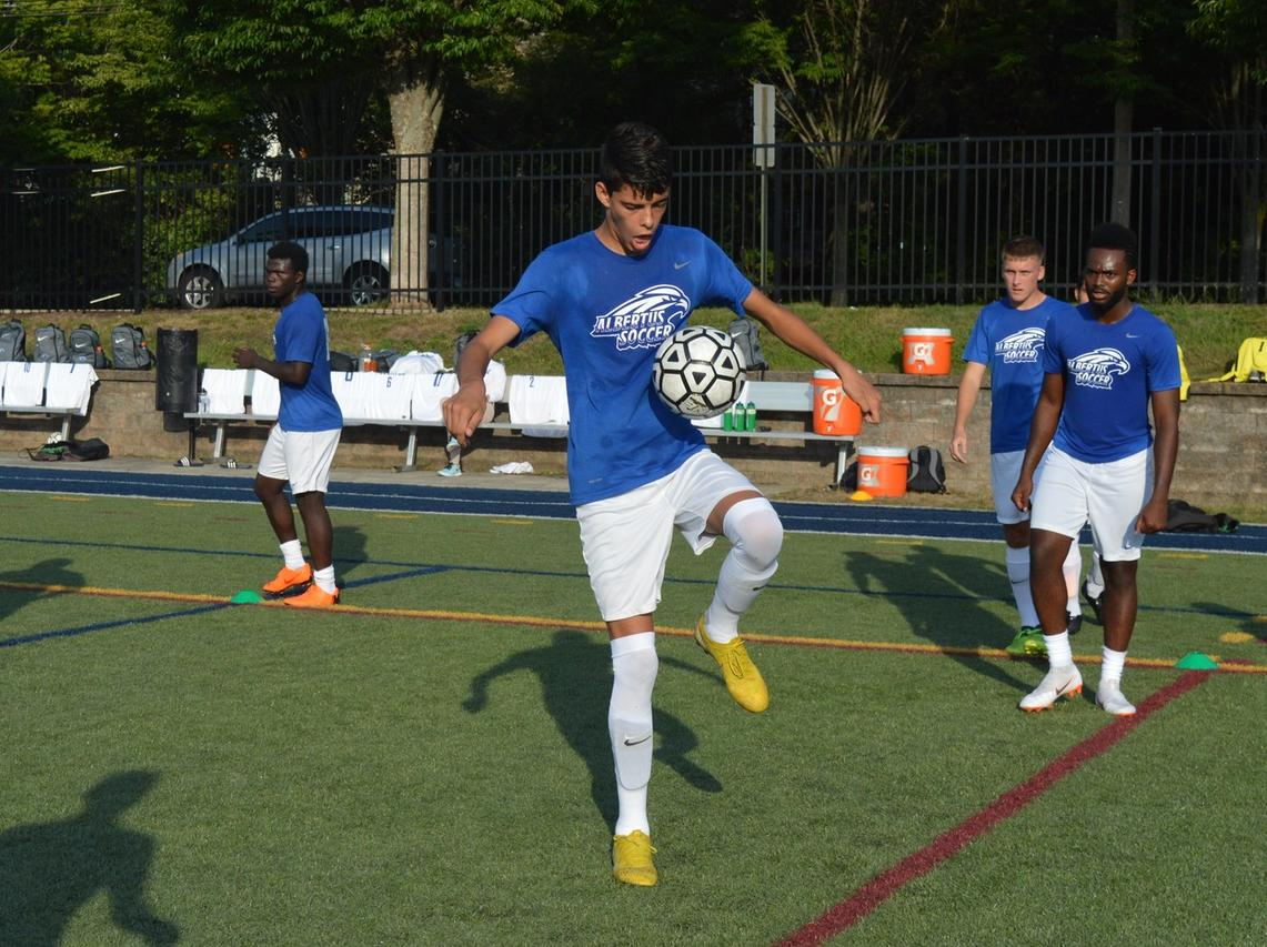 Men's Soccer Battles to Double Overtime Draw Against Emmanuel