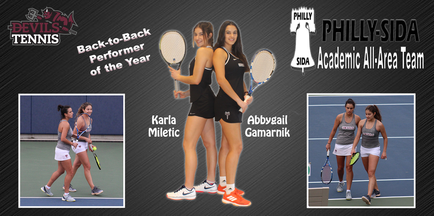 Miletic Repeats as Performer of the Year; USciences Only School with Two on Philadelphia Inquirer Academic All-Area Team as Gamarnik Earns First Nod