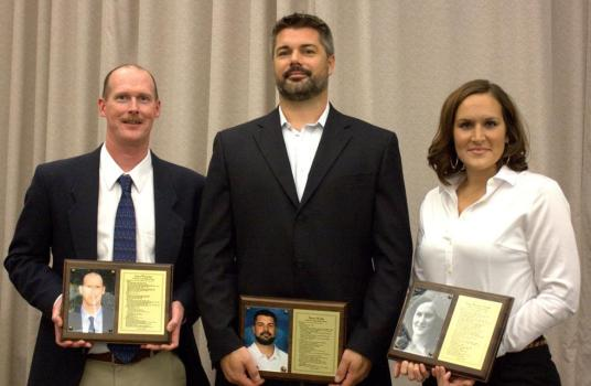 (L-R) Larry Worcester, Shawn Windle, Erica (McGary) Tweedie