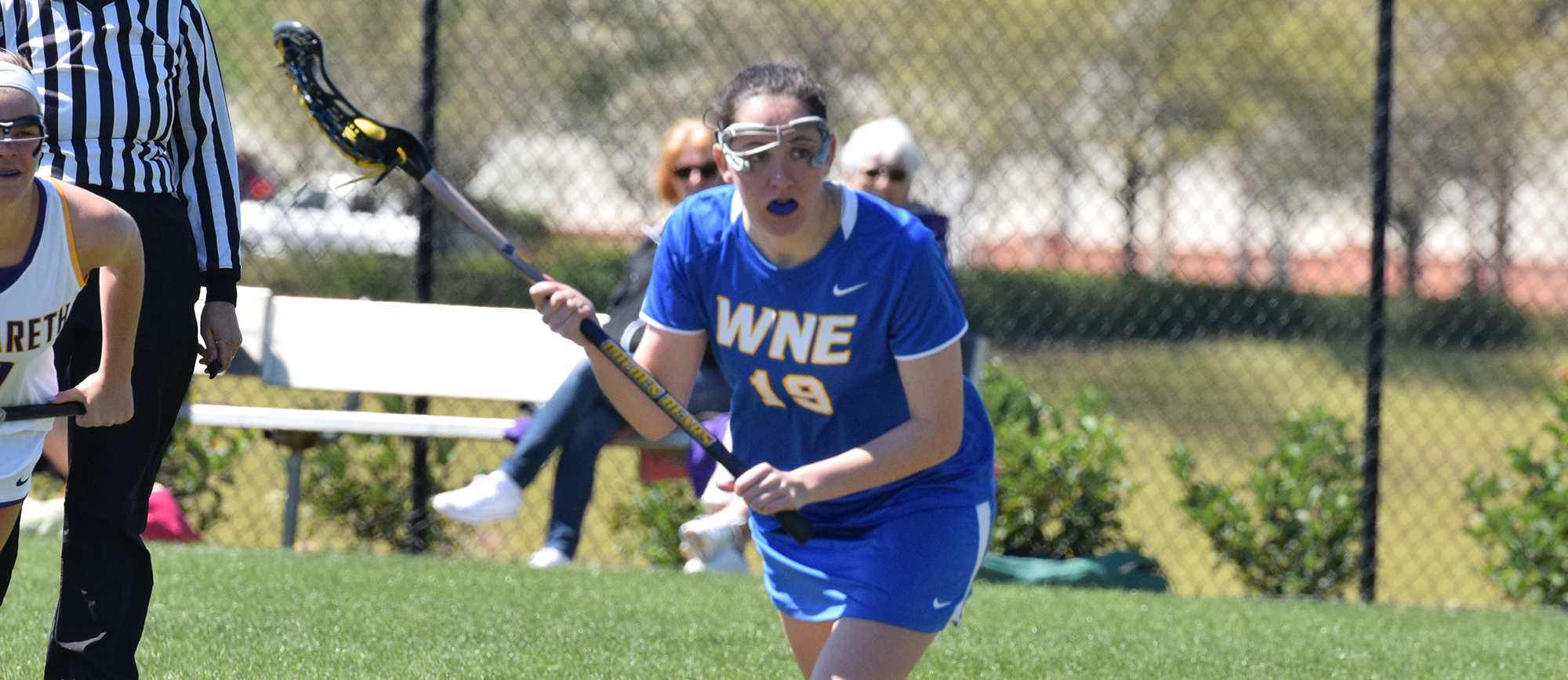 Junior Kristen Breen recorded a career-high seven points in Western New England's 21-8 win over Wentworth on Wednesday.