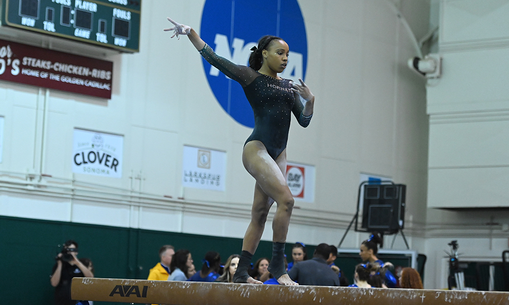 BRENT LEADS GYMNASTICS AT NORCAL CLASSIC