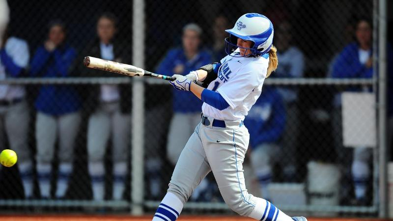 Softball Hits Three Homers in Home Win Wednesday