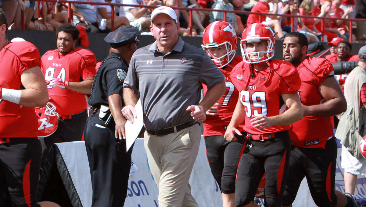 Head Coach Bo Pelini (Photo By Ron Stevens)