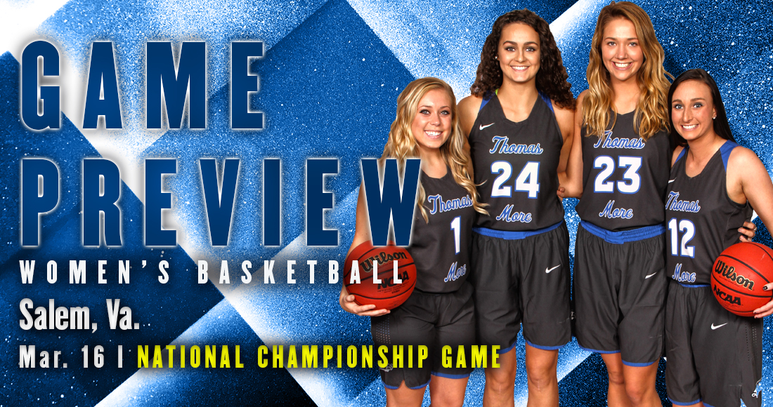 Women's Basketball Takes on Bowdoin in National Championship Game Tomorrow