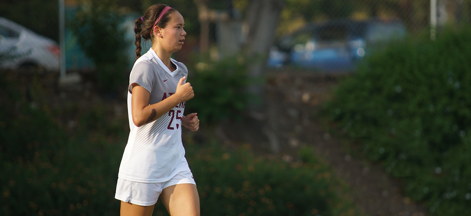 Loggers Cut Down Athenas With Pair of Goals