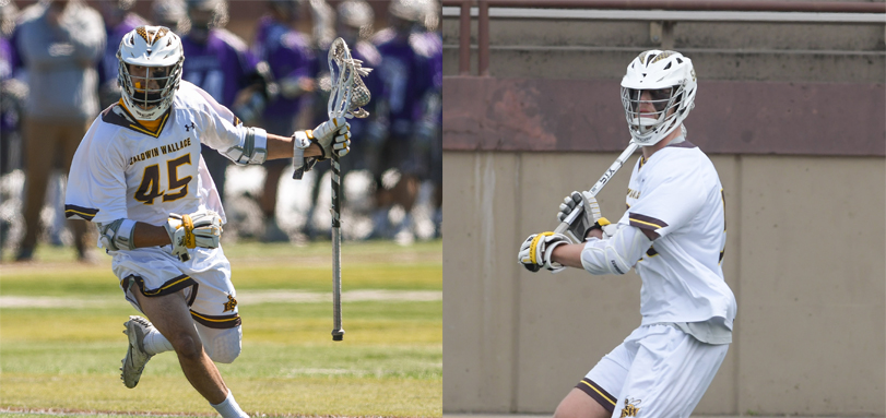 Senior All-OAC midfielder Matt McDowell and junior All-OAC attack Chad Steinwachs