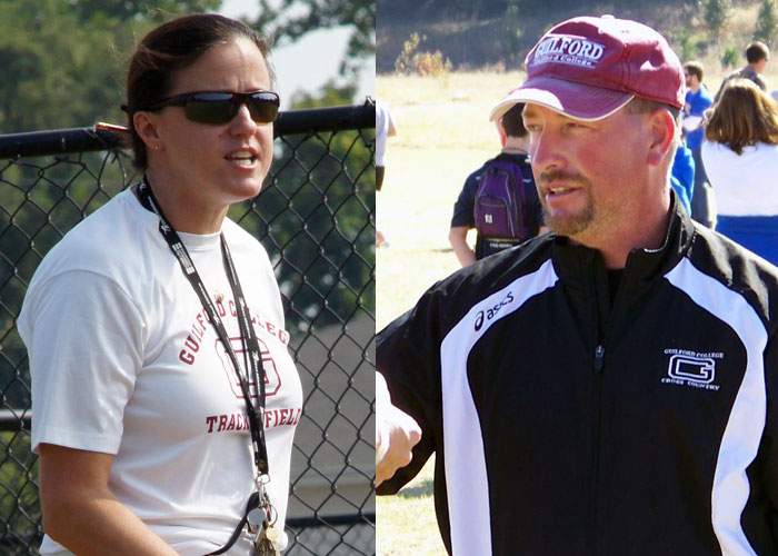 Coaching Guilford's Track and Cross Country Teams is a Family Affair