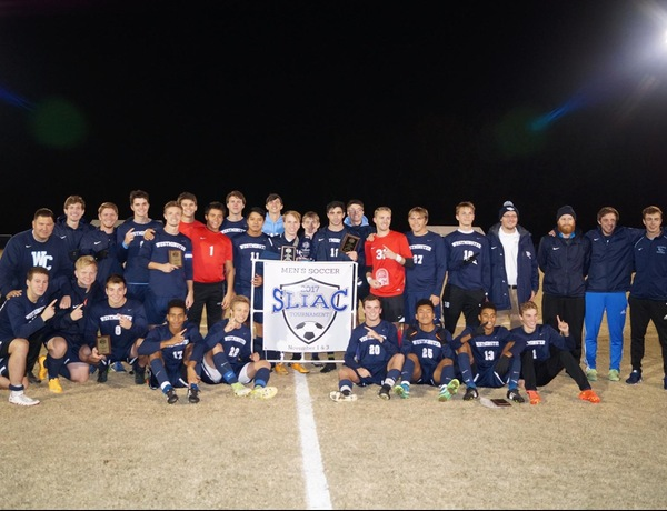 Westminster Men's Soccer Wins Fifth-Straight SLIAC Tournament