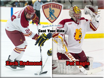 Vote Nagle and Redmond For The Hobey Baker Award!