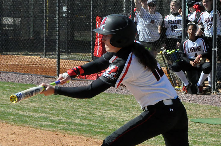 Softball: Huntingdon downs Panthers in USA South doubleheader