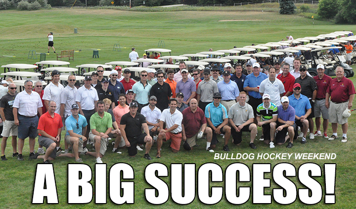 Bulldog Hockey Classic-Alumni Golf Outing Proves To Be A BIG SUCCESS!