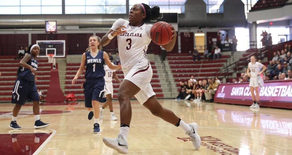 Women's Basketball's Suffocating Defense Leads to Big Road Win at San Diego State