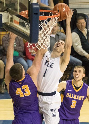 Bulldogs Make It 16 Straight At Home; Top Albany 59-55