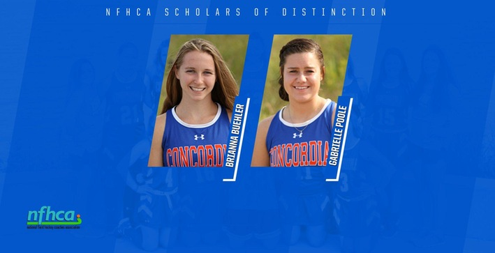 Buehler and Poole named Scholars of Distinction