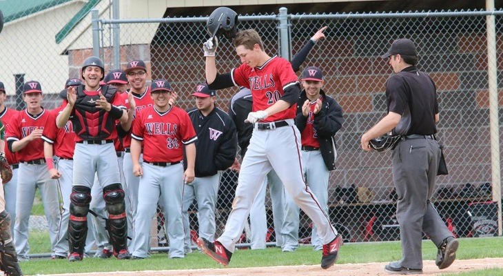 Playoff Win For Baseball As Wells Continues NEAC March