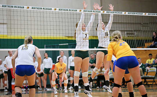 Volleyball Takes the Road for Two GLIAC Matches