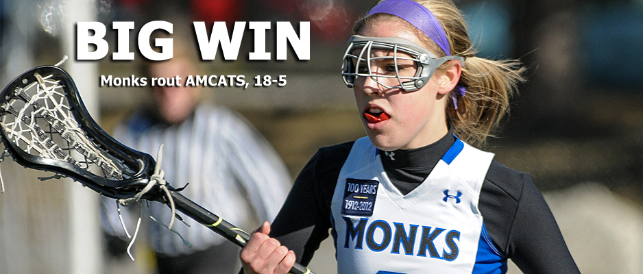 Women's Lacrosse Improves to 5-2 in GNAC Play