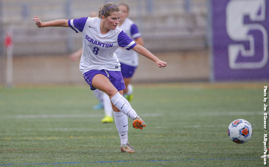 Junior Kelly Egan has been named the Landmark Conference Offensive Athlete of the Week for women's soccer.