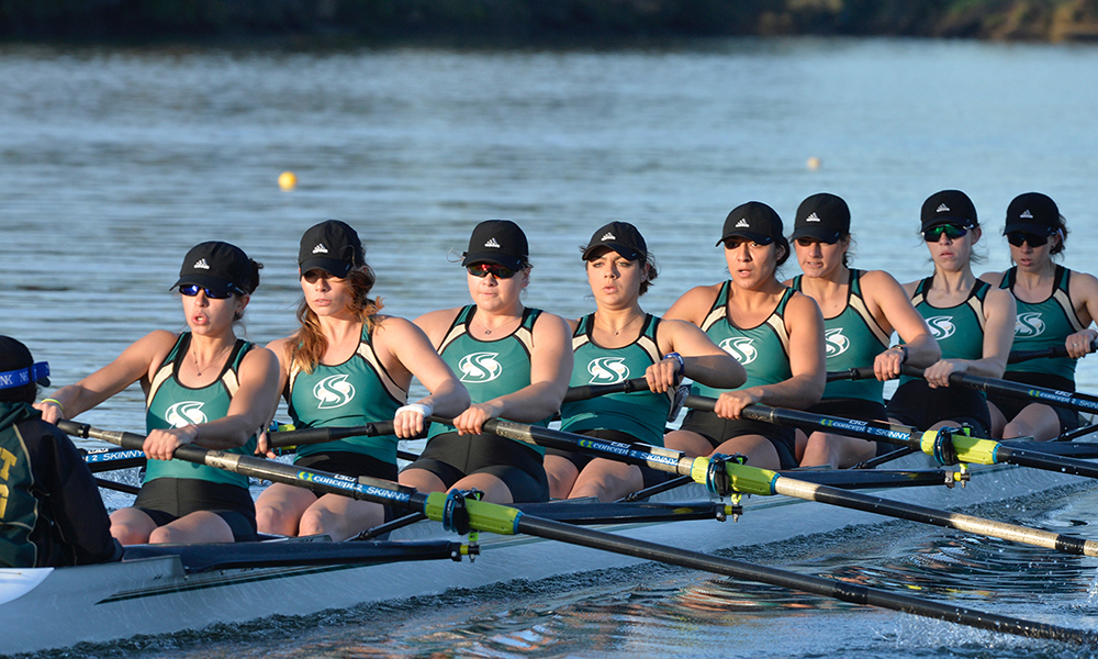 FIRST DAY OF CREW CLASSIC COMPLETE, ROWING PLACES TWO BOATS IN SUNDAY'S GRAND FINAL