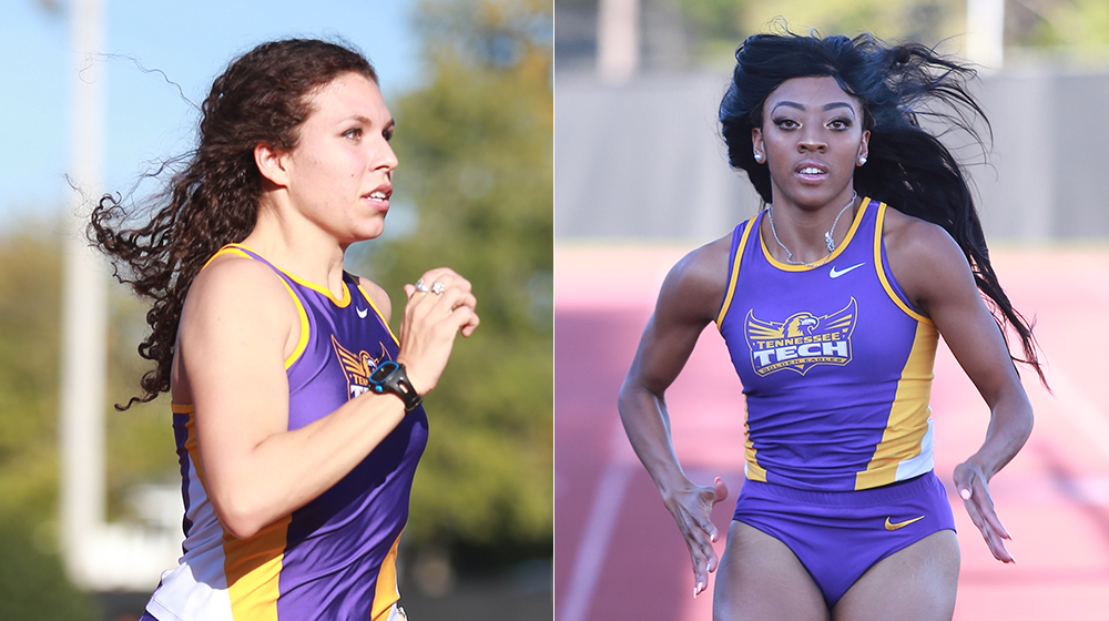 Tech sends two Golden Eagles to NCAA-qualifying meets