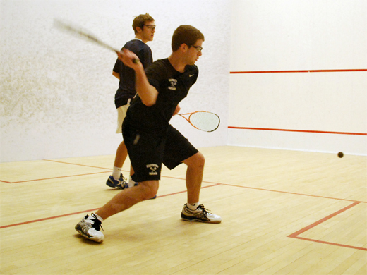Men's squash opens season with pair of wins at Vassar