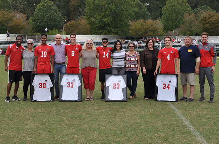 Men's Soccer: Panthers celebrate Senior Day with 7-0 win over Berea