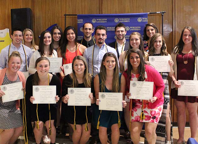 Worcester State Athletics Recognizes Senior Accomplishments at Annual Awards Banquet