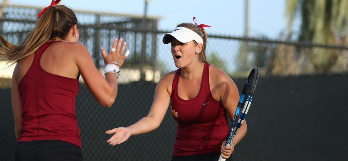 CMS Women's Tennis Doubles Team Captures ITA Cup Title with Comeback Three-Set Win