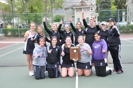 The University of Scranton women's tennis team made its first appearance in the NCAA Tournament in school history on Friday, May 11.