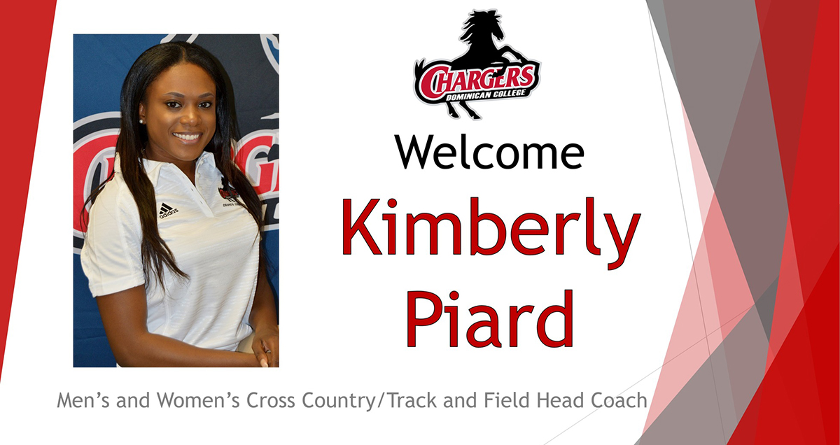 Kimberly Piard Named Dominican Head Track & Field/Cross Country Head Coach