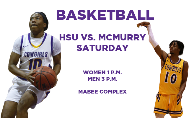 HSU-McMurry Hoops Set For Saturday Clash