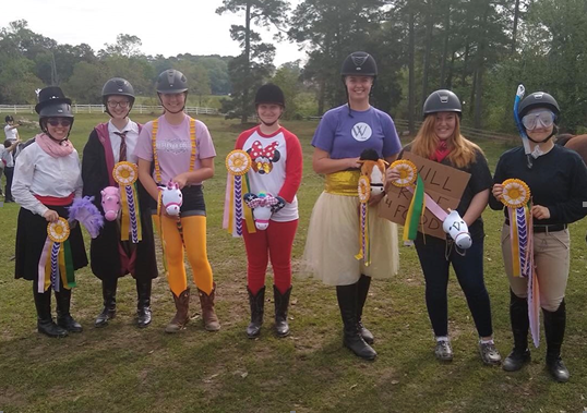 Anna Latimer (SR) ~ Mary Poppins on Umber Ella - awarded Most Unique