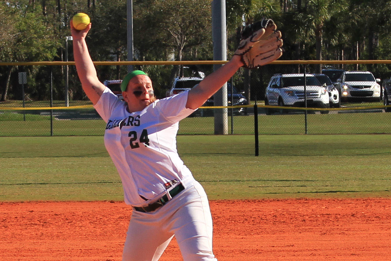 Softball Takes Both Games Of Doubleheader With Bay Path