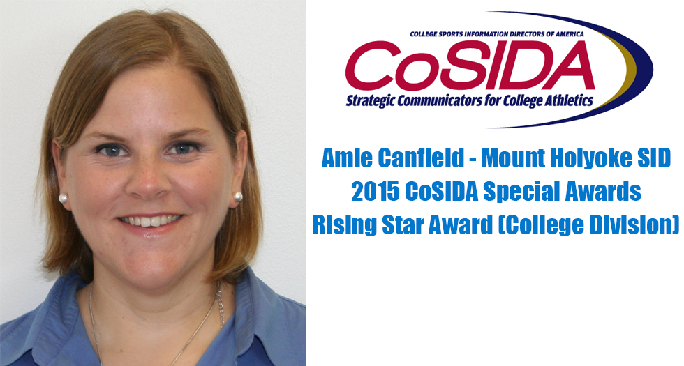 Lyons SID Amie Canfield to Receive CoSIDA Rising Star Award