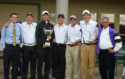 The Royals won their third straight Glenmaura National Collegiate Invitational in Moosic, Pennsylvania, today, defeating McDaniel College in a two-hole playoff.