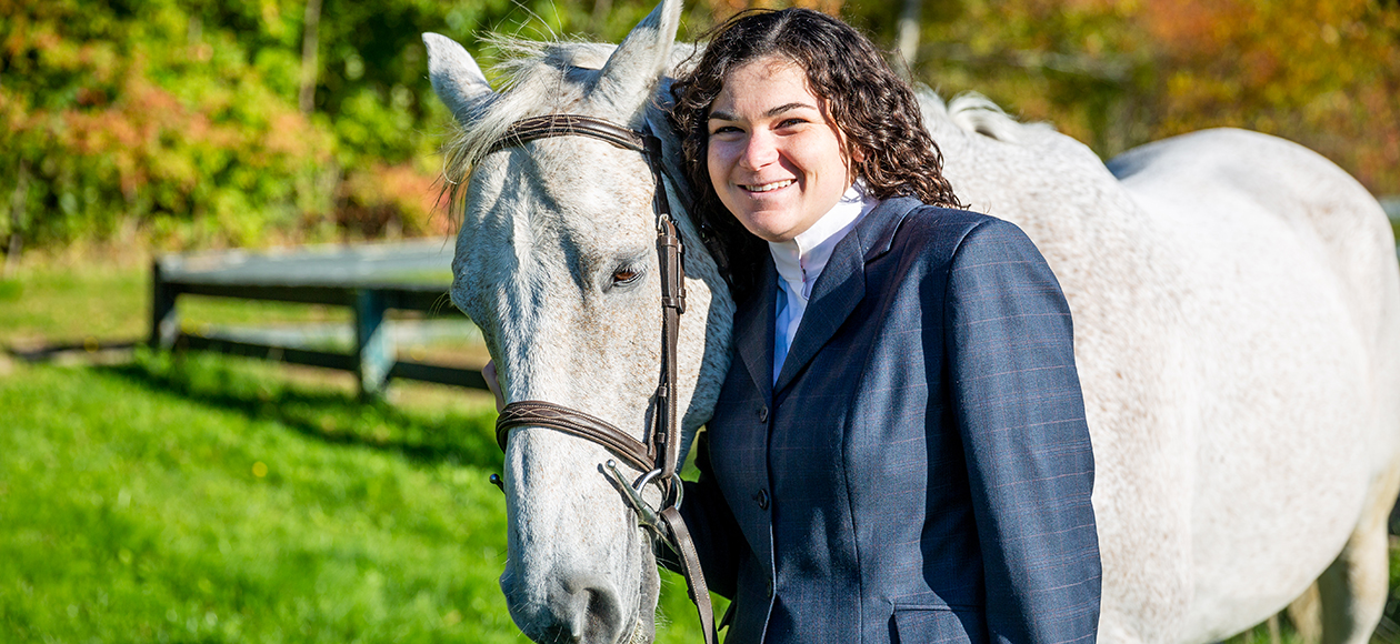 Equestrian Earns Reserve Champion Honors; Three Gulls Qualify For Regionals At Bridgewater St./Stonehill Show
