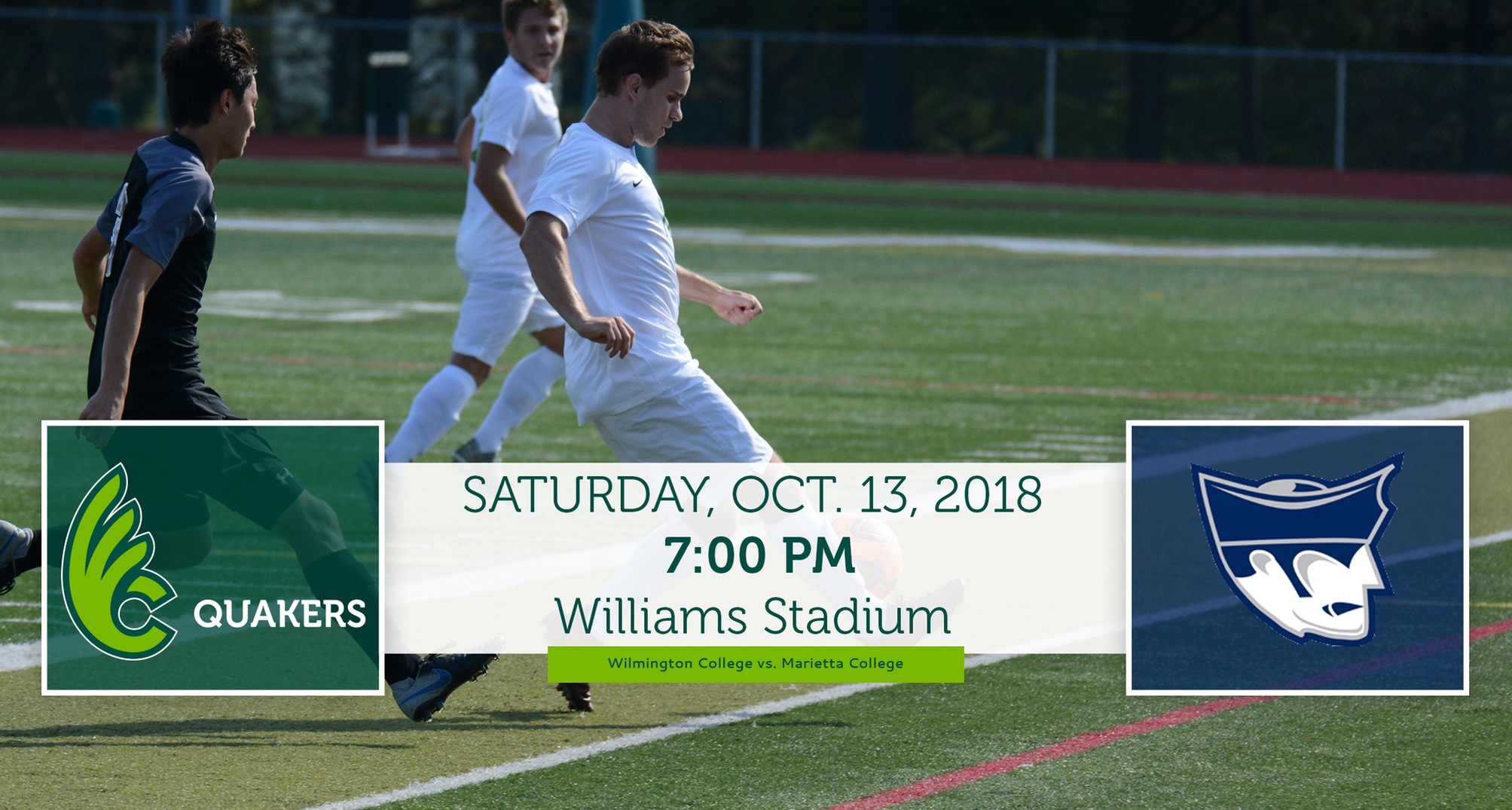 Men's Soccer to Meet Marietta Saturday