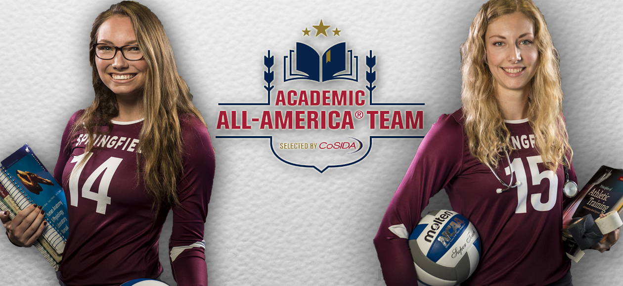 Holt and Mawdsley Receive Capital One Academic All-America® Accolades