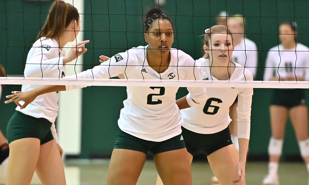VOLLEYBALL LOSES TO WEBER STATE, BUT CLINCHES BERTH TO THE BIG SKY TOURNAMENT