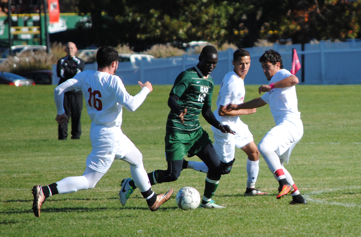 Pine Manor Edges Men's Soccer In Overtime