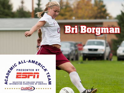 Bri Borgman Named To Academic All-District Women's Soccer Team