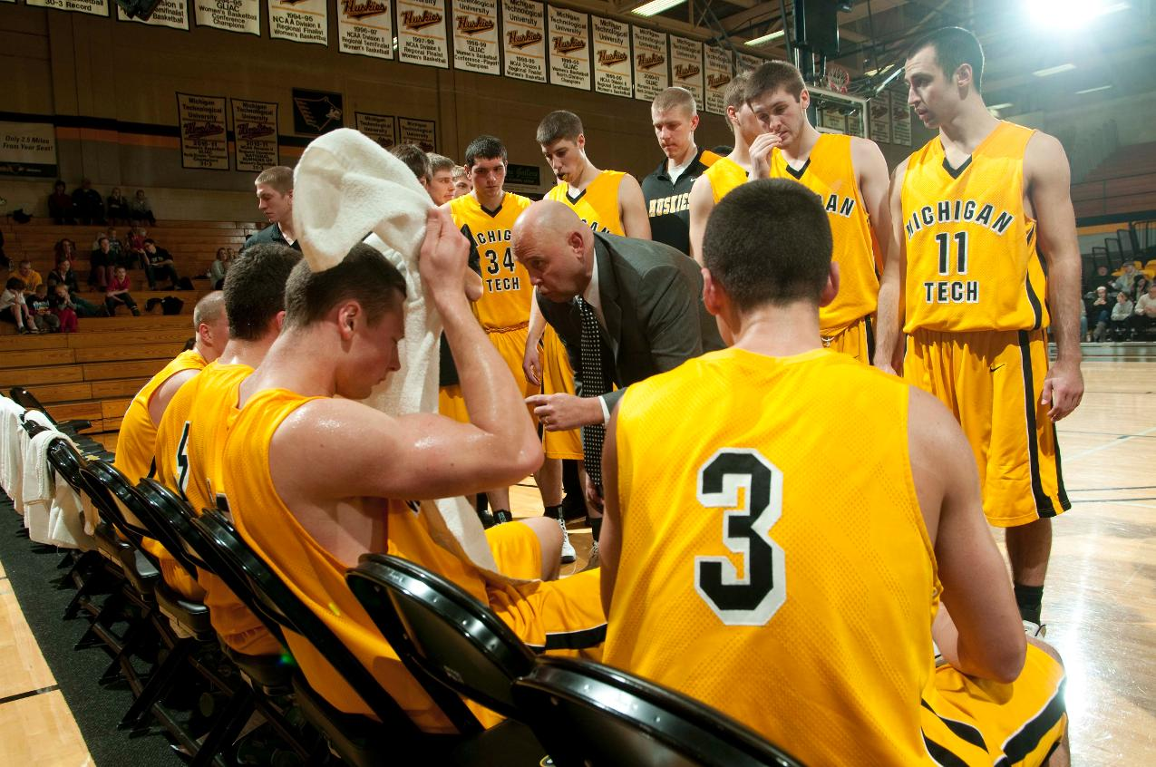 PHOTOS: Men's Basketball Against Ohio Dominican on Jan. 2 - Michigan Tech Athletics