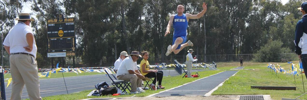 Masterson Leads Decathlon With Two Lifetime Bests After Day 1 of Big West Multi Championships