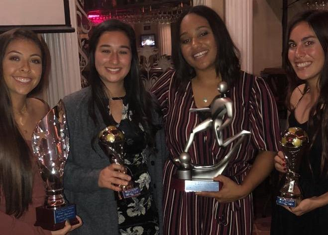 Women's soccer team hands out end of season awards