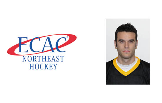 Peck Earns ECAC Northeast Weekly Honors