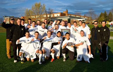 Husson Defeats Castleton 3-1 to Win the NAC Championship
