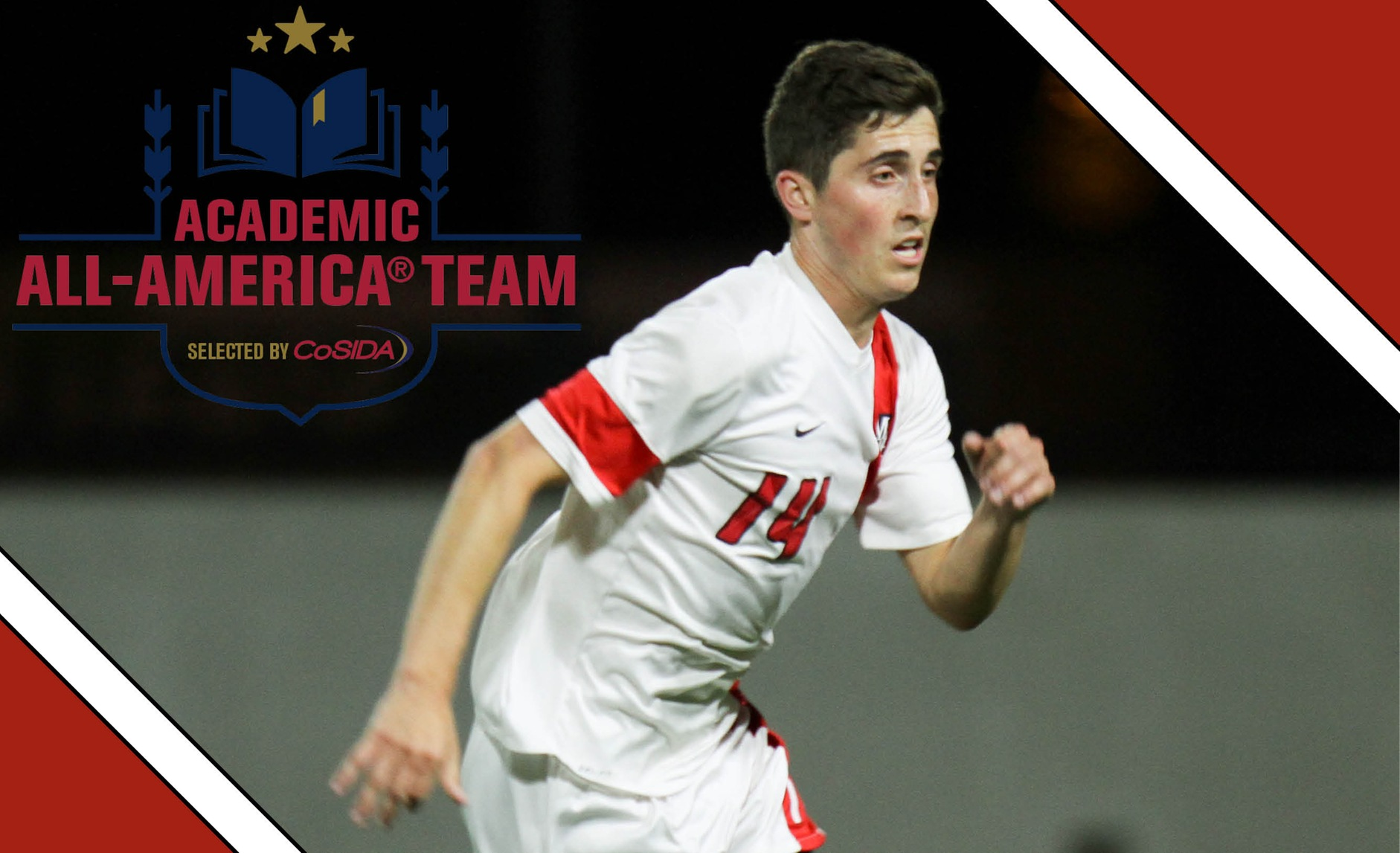Andryk Repeats as CoSIDA Academic All-American