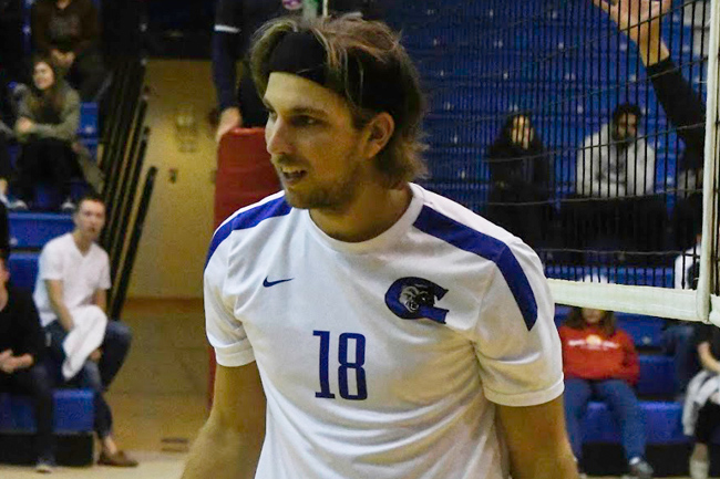 MEN'S VOLLEYBALL SWEEP BLAZERS OUT OF WINNIPEG